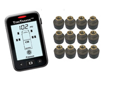 TT-500 / 12-WHEEL TIRE MONITORING SYSTEM