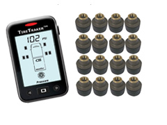 TT-500 / 16-WHEEL TIRE MONITORING SYSTEM