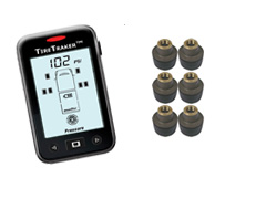 TT-500 / 6-WHEEL TIRE MONITORING SYSTEM