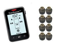 TT-500 / 8-WHEEL TIRE MONITORING SYSTEM